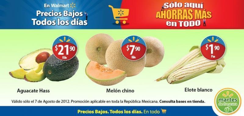 Martes de frescura en Walmart agosto 7: melón $7.90, mojarra $31.90 más