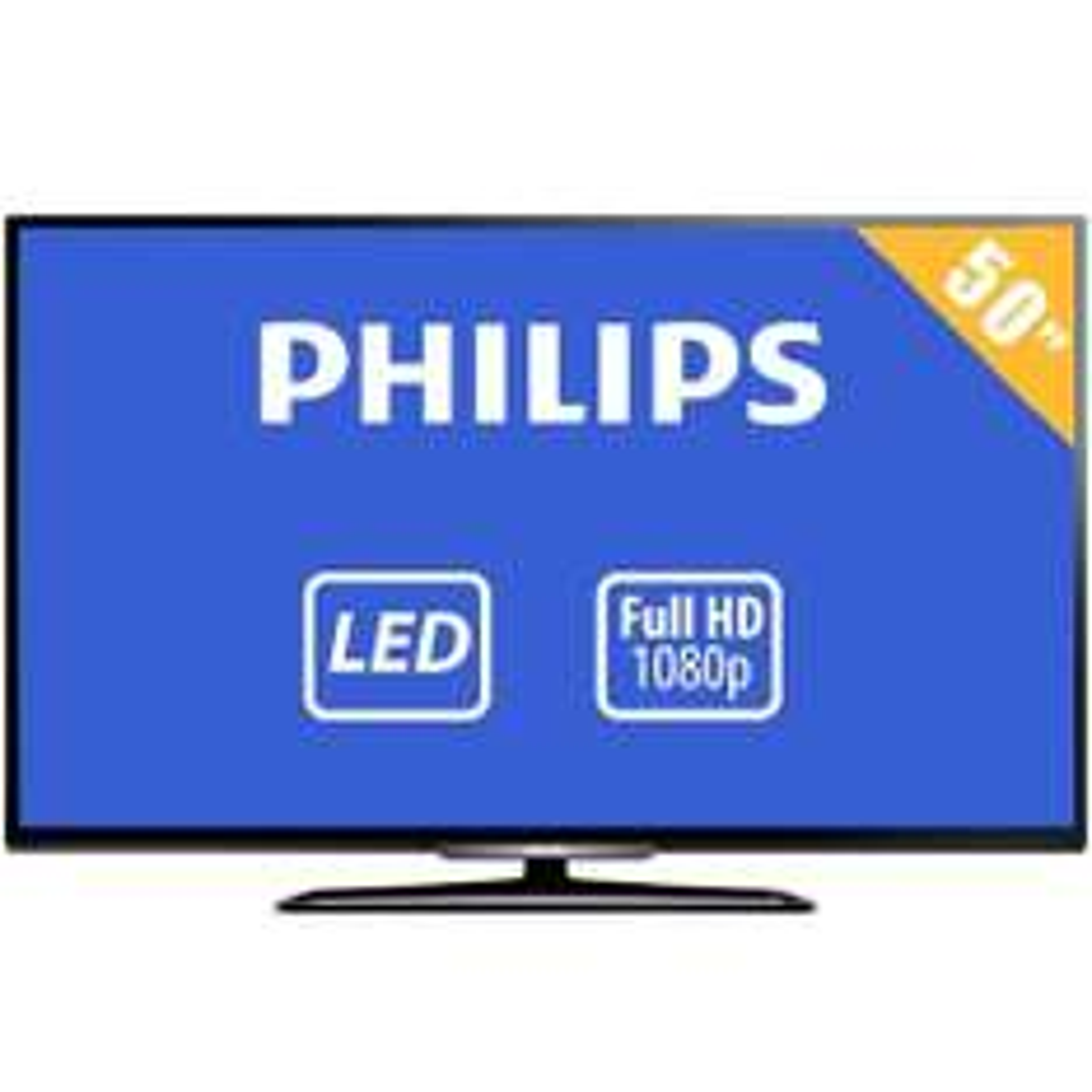 Walmart en línea: TV Philips 50 Pulgadas 1080p Full HD LED 50PFL4709F8