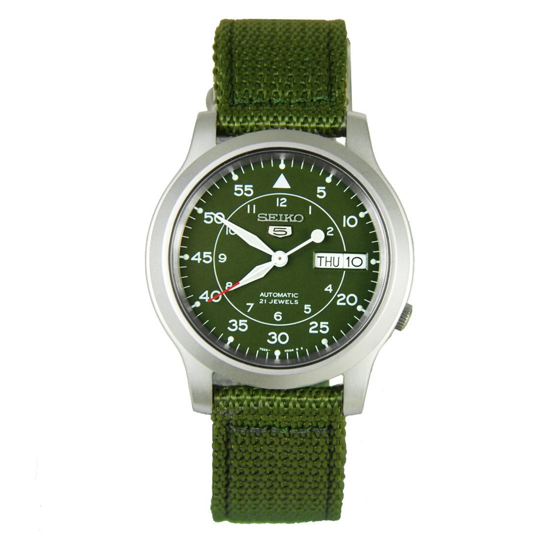 Amazon: reloj automático Seiko SNK805 a excelente precio
