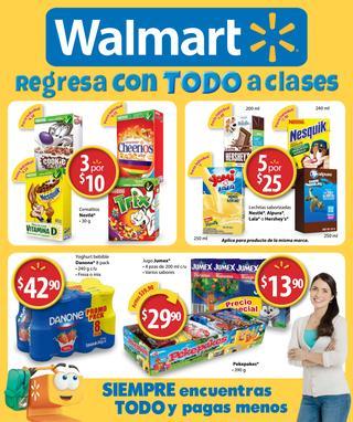 Nuevo folleto Walmart 17 al 31 agosto