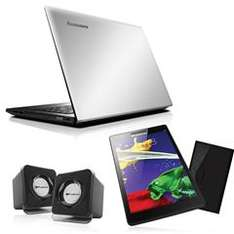 Sanborns: Bundle Laptop Lenovo Ideapad 300 / Tableta Lenovo TAB2 A7-20 / Bocinas