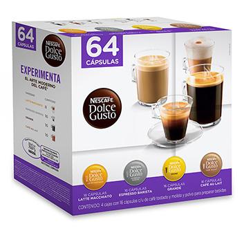 Costco en línea: Nescafe, Dolce Gusto, pack con 64 cápsulas