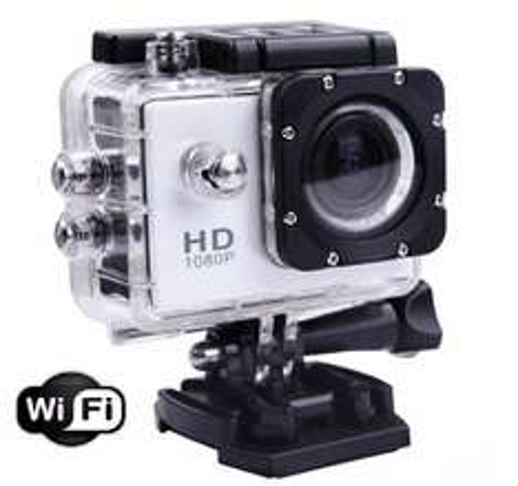 Steren: cámara deportiva sumergible Full HD con Wi-Fi