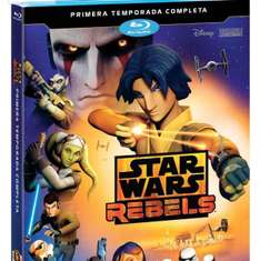 Amazon Mx: Star Wars Rebels. Temporada 1 [Blu-ray] de $555 a $134.75 (76% desc.)