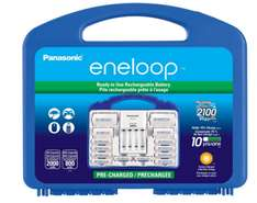 "Amazon: Eneloop Power Pack ""8 pilas AA, 2 AAA, 2 separadores C y 2 D"""