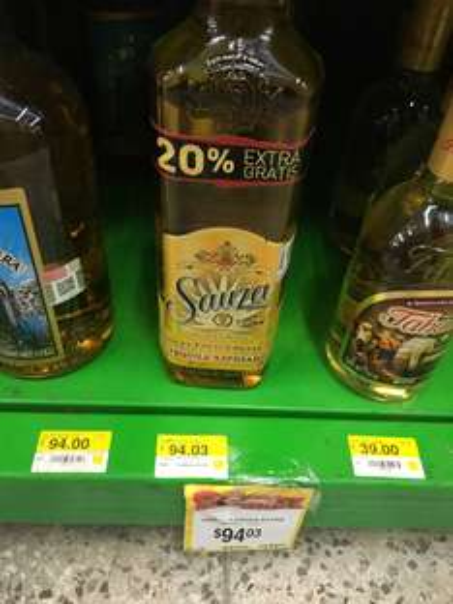 Bodega Aurrerá (CDMX): tequila reposado Sauza extra de 1.2 litros