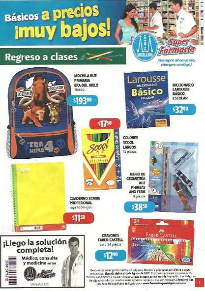 Folleto Farmacias Guadalajara: 30% de descuento en Autan, 2x1 en desodorantes Speed Stick, Teen Spirit y más
