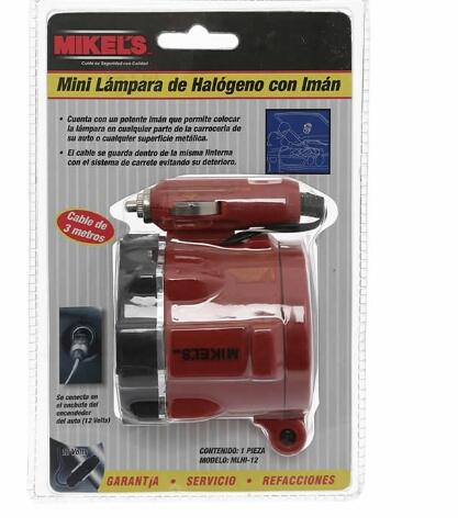 Walmart León: Lámpara de halogeno Mikels a $35.01