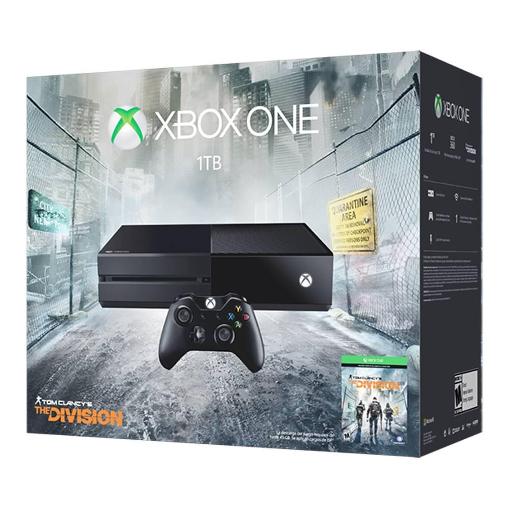 Walmart en línea: Xbox One 1 Tera + juego Tom Clancys a $6, 899