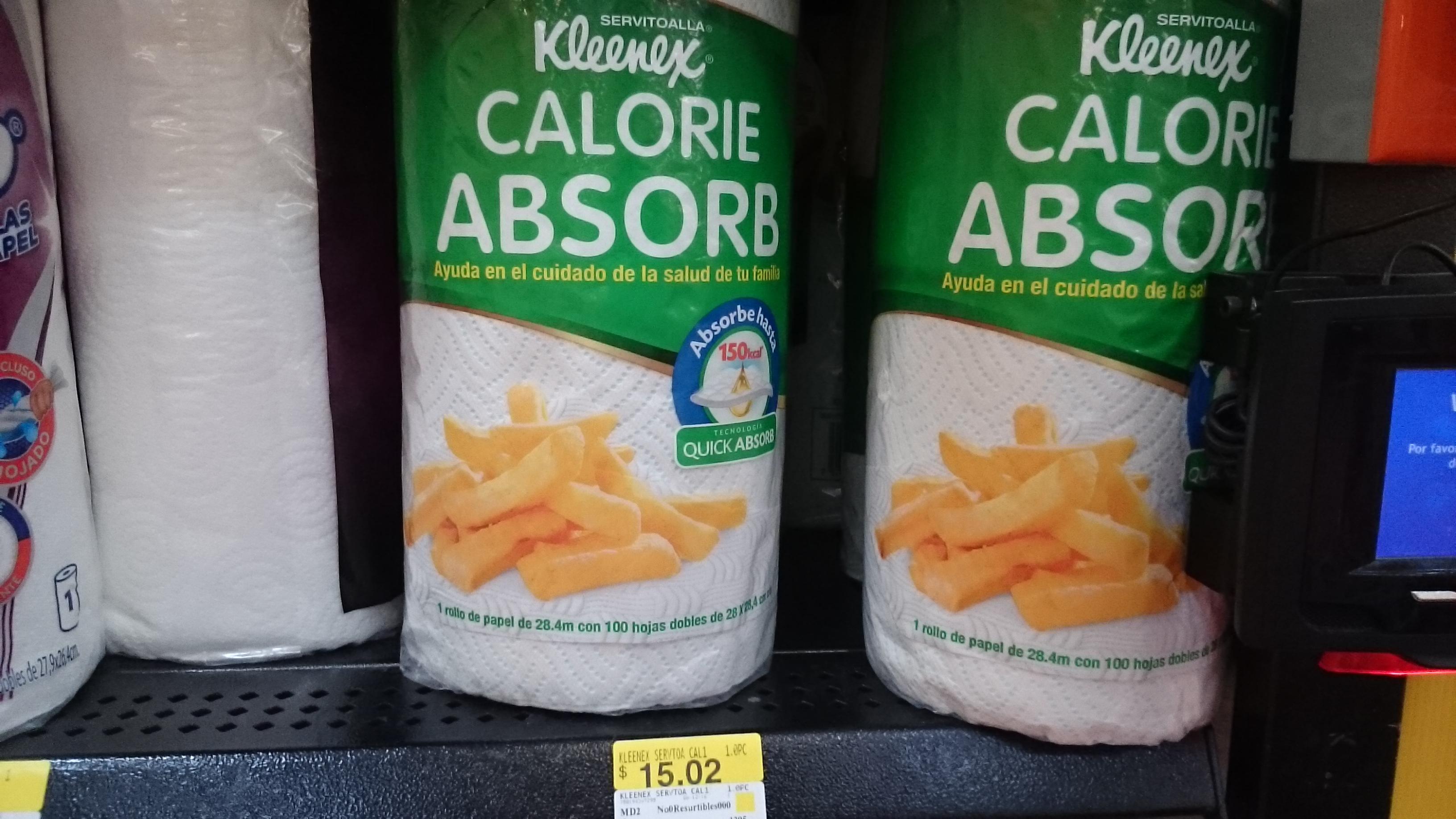 Walmart Jiutepec: servitoallas Kleenex a $15.02