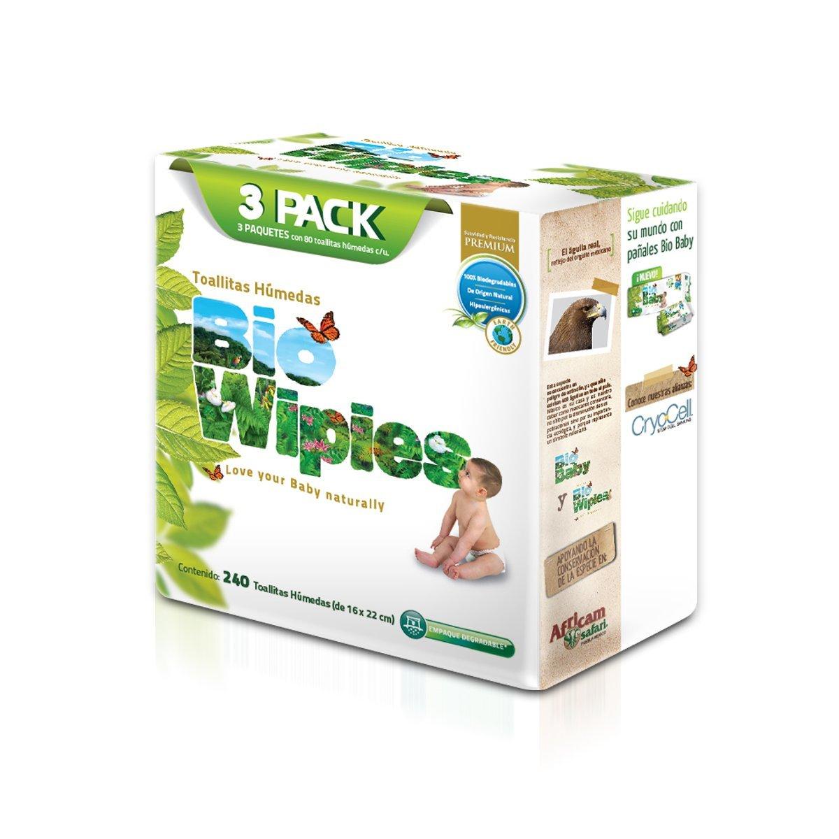 Amazon: Bio Wipies, Toallas Húmedas para Bebé, 960 Toallas