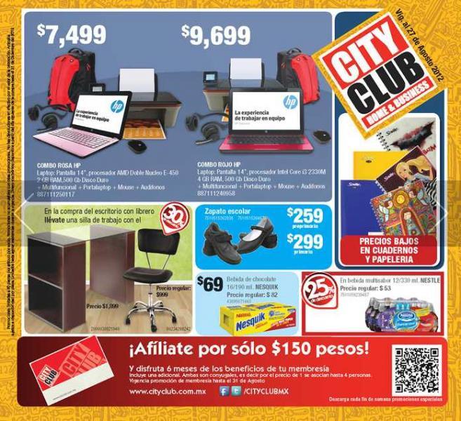 """Chequera City Club 08/01: 2x1 en helados Breyers, 30% de descuento en colchones, pantalla LED LG 42"""" $7,999 y más"""