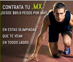 Dominios .mx desde $86 (regular $322)