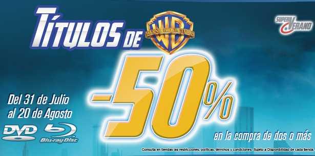 Blockbuster: 50% de descuento en títulos de Warner Bros