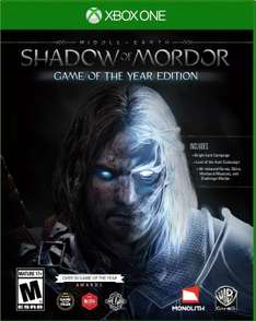 Amazon: Middle Earth Shadow of Mordor GotY para Xbox One