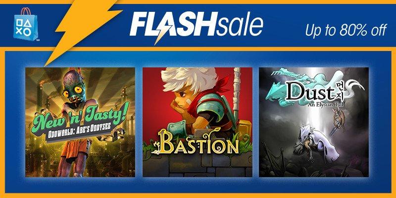 Playstation Network  - Flash sale , juegos con hasta el 80% de descuento