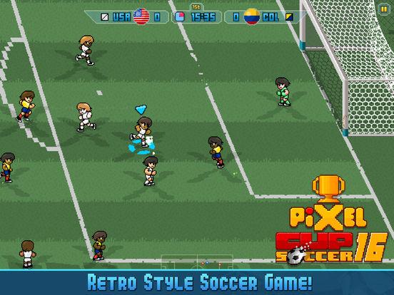 App Store: Pixel Cup Soccer 16 para ios GRATIS