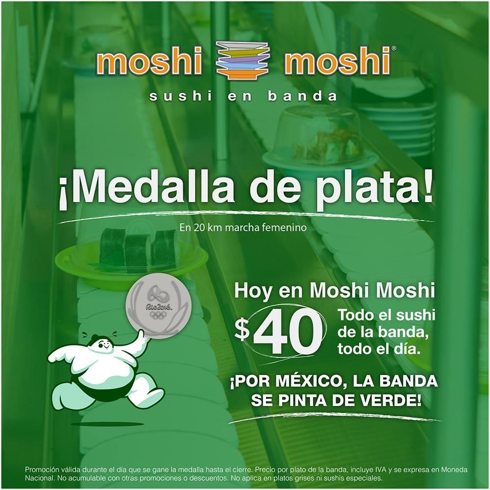 Moshi Moshi: $40 todo el sushi, todo el día 19 de agosto
