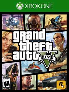 Amazon: Grand Theft Auto V para Xbox One a $610, para Xbox 360 a $367 y para PS3 a $348