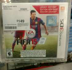 Sam's Club: FIFA 15 LEGACY EDITION NINTENDO 3DS