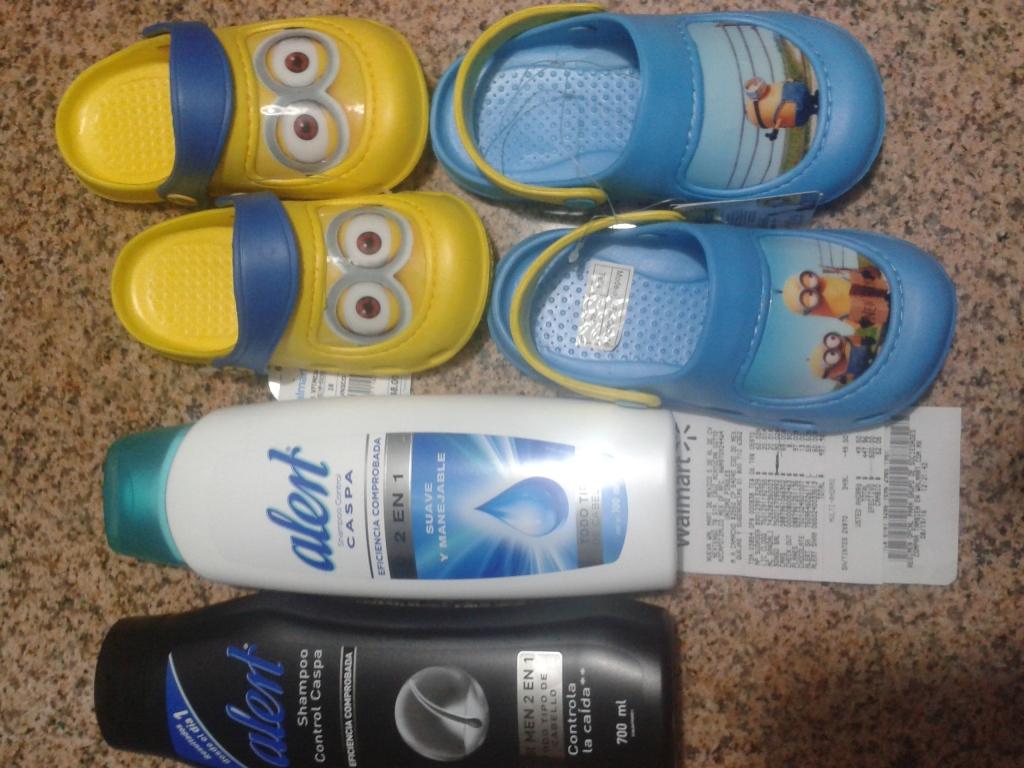 Walmart: arboledas 2 shompoo alert en $70 y mas