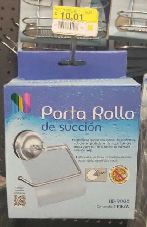 Walmart Cd del Carmen: Porta Rollo y Artículos Diversos