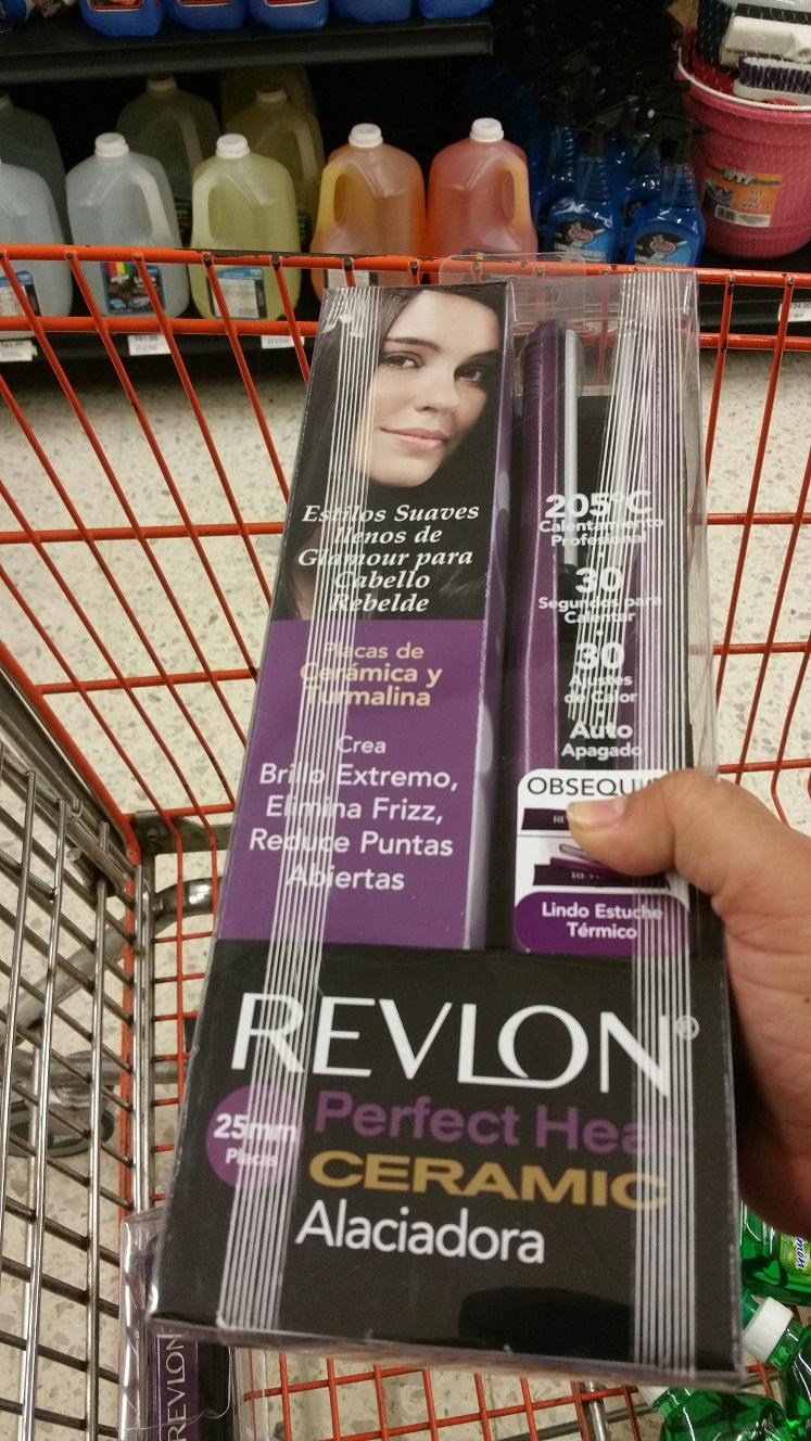 Chedraui Villa Crystal: Alaciadora Revlon Perfect Heat con promonovela