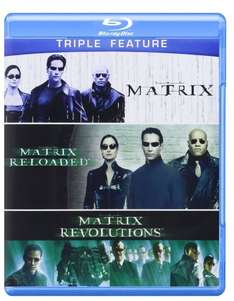 Amazon: Trilogia Matrix en Blu-Ray a $183