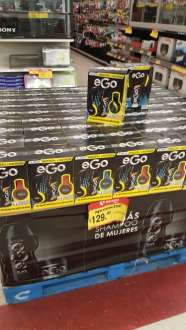 Soriana: audifonos mas 2 shampoos Ego a $129