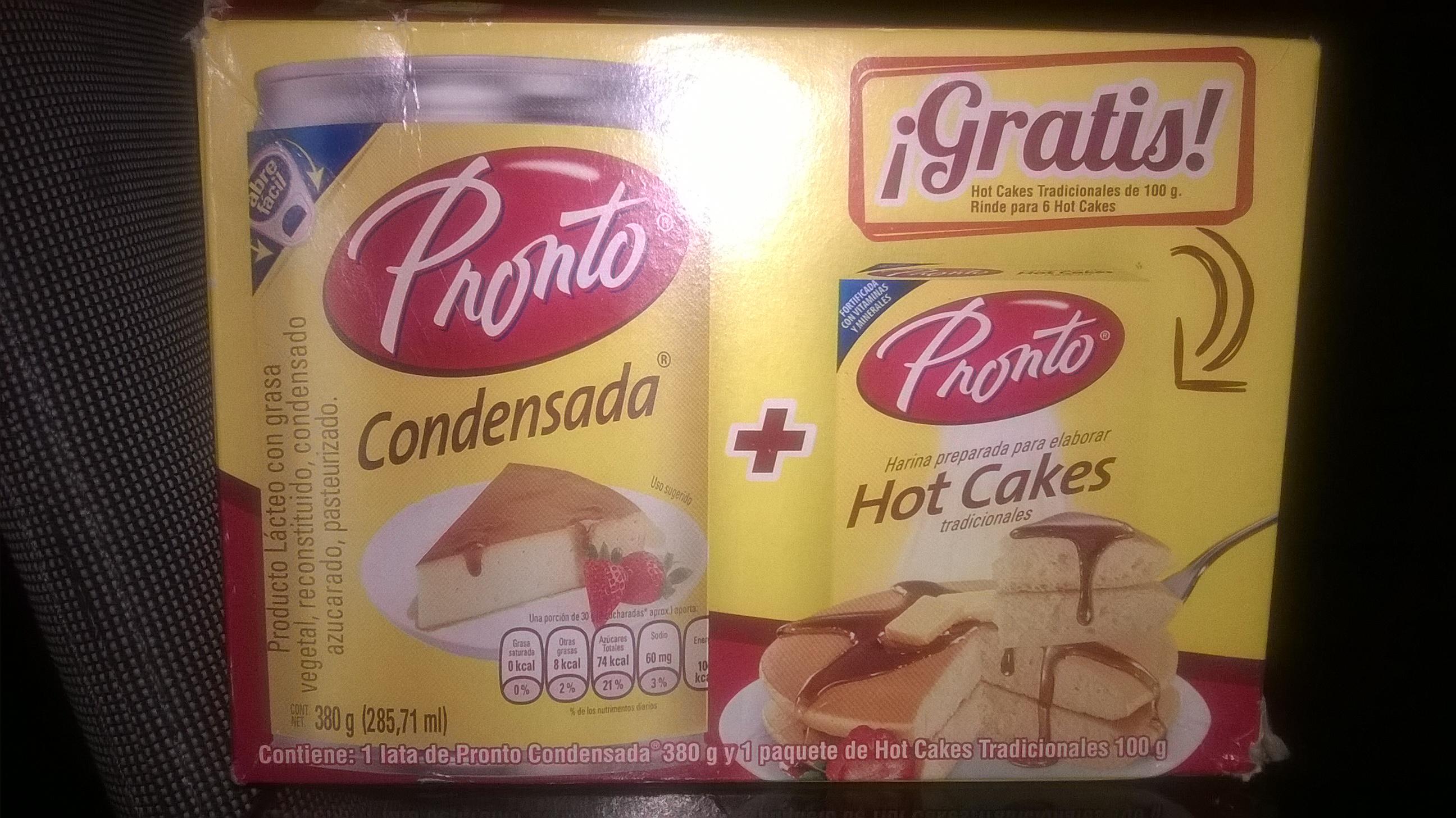 Walmart: Leche condensada Pronto con harina para hot cakes