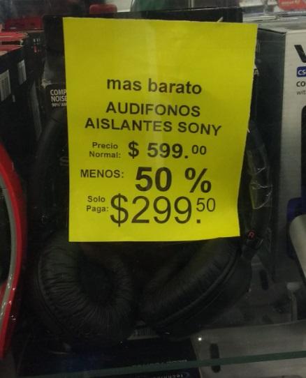 Soriana: Audífonos y Barra de sonido en promoción