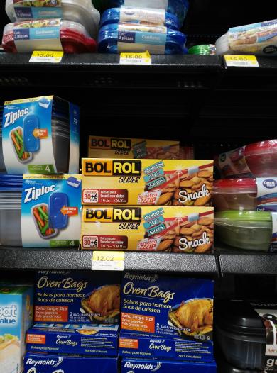 Walmart Salina Cruz: 36 bolsas para snacks Bol Rol a $12.02
