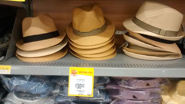 Walmart Alijadores: sombrero Leo Costello en liquidación a $30.02