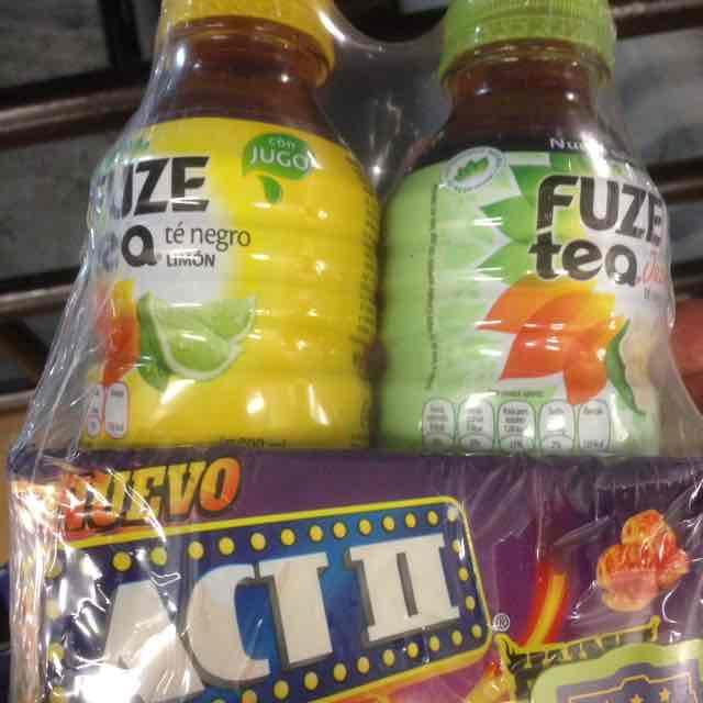 Superama: 2 fueze tea y unas palomitas Act II a $17