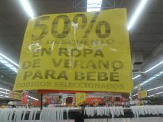 Soriana Hiper Córdoba 50% descuento ropa de verano para bebés y más