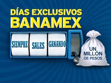 Días Exclusivos Banamex: ofertas en La Comer, Liverpool, Sam's, Best Buy, Aeroméxico y más