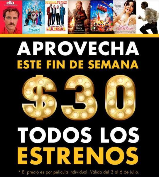 Cinépolis Klic: todos los estrenos a $30