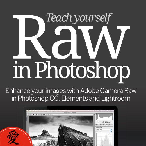 GRATIS - Libro de Fotografía TEACH YOURSELF RAW IN PHOTOSHOP como descarga GRATUITA cortesía de Future Publishing UK.