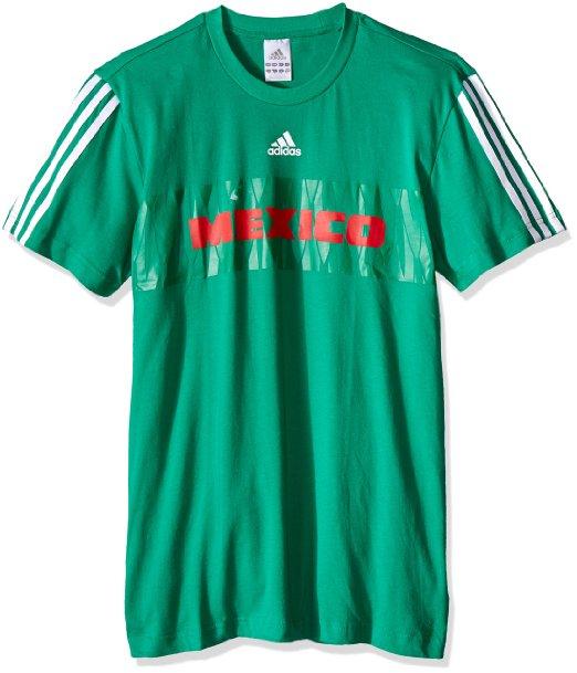 Amazon: Adidas Playera de la Selección Mexicana (Hombre)
