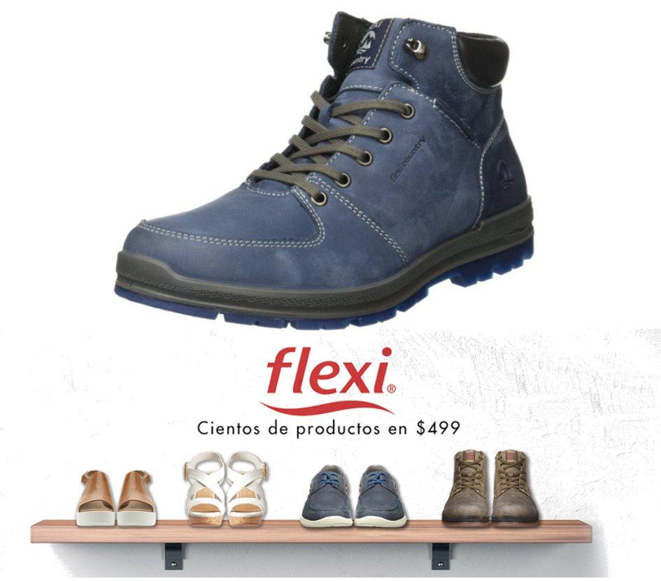 Amazon: Zapatos Flexi para hombre o mujer a $499, varios estilos.