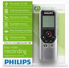 Amazon: Philips DVT-1200 Grabadora de voz barata a $746