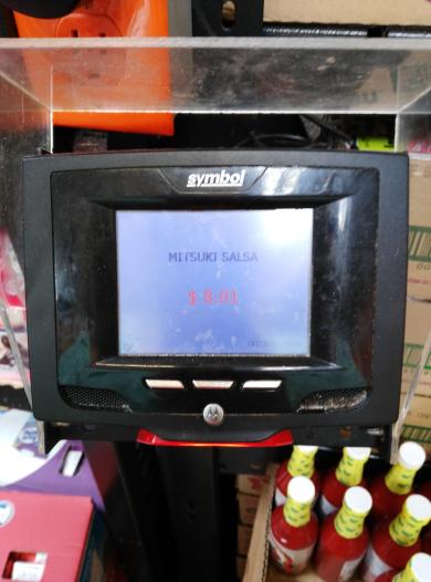 Walmart Salina Cruz: salsa de ciruela Mitsuki a $8.01, se ve buena nunca la he probado .