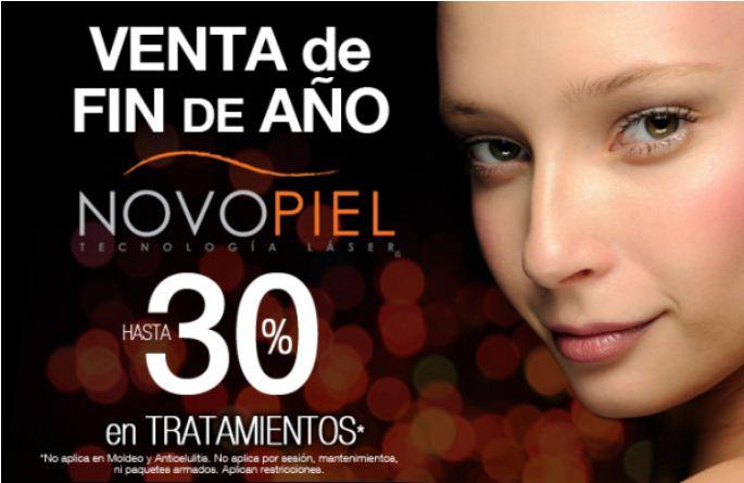 Novopiel: hasta 30% de descuento en tratamientos