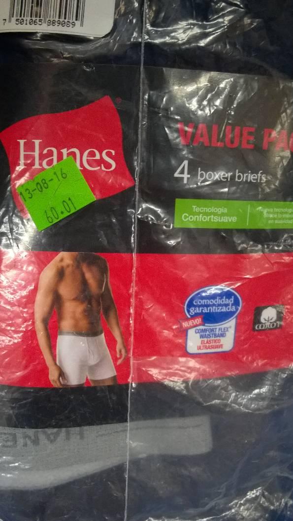 Walmart Merida: Paquete de boxers y camisetas Hanes a $60.01