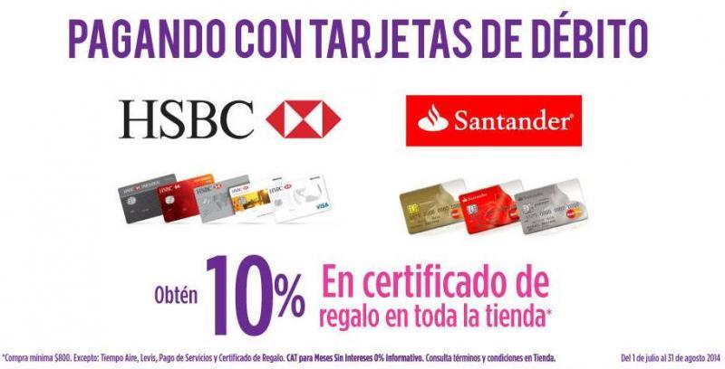 Suburbia: 10% de bonificación todo el verano pagando con HSBC y Santander