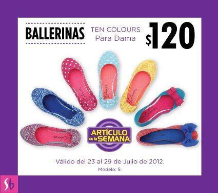 Artículo de la semana en Suburbia: ballerinas para mujer a $120