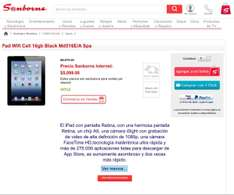 Sanborns: iPad MD516E/A