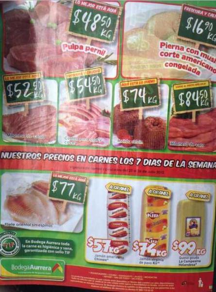 Tianguis de Mamá Lucha julio 20: limón $2.90, manzana red $17.50 y más