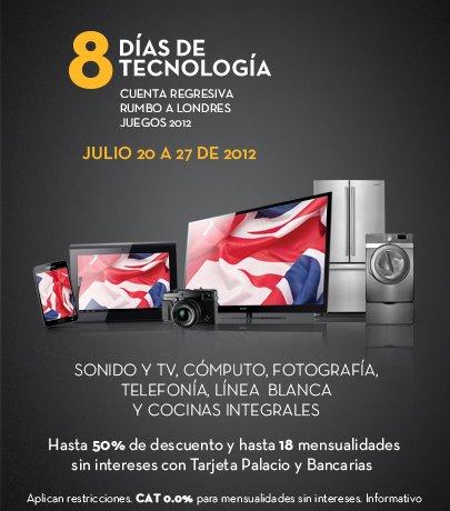 Palacio de Hierro: 8 días de tecnlogía con hasta 50% de descuento y 18 MSI