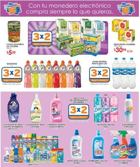 Folleto Chedraui 20/07: 3x2 en desodorantes, 24 MSI con Bancomer y más